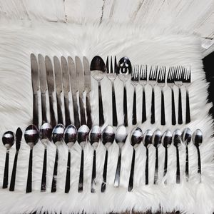 Cambridge Stainless Flatware 35 pc